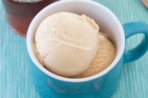 Caramel IPA Ice Cream - sweet, burnt and full of hop flavor in every bite.